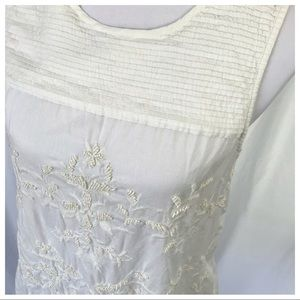 Esprit | Cotton Embroidered Top